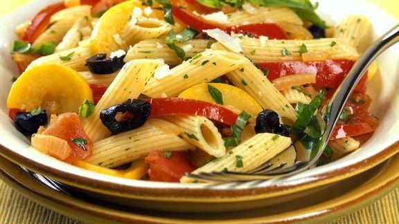 Rezept: Nudeln mit Gemüse