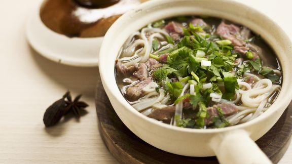 Rezept: Nudelsuppe auf vietnamesische Art