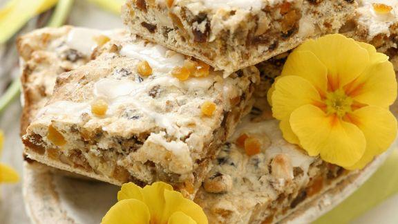 Rezept: Nuss-Rosinen-Kuchen nach polnischer Art
