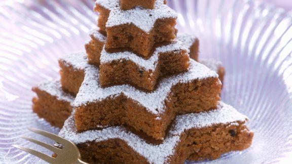 Rezept: Nuss-Schoko-Kuchen an Weihnachten