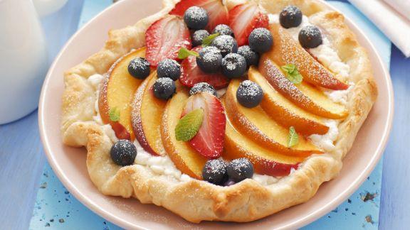 Rezept: Obst-Pizza