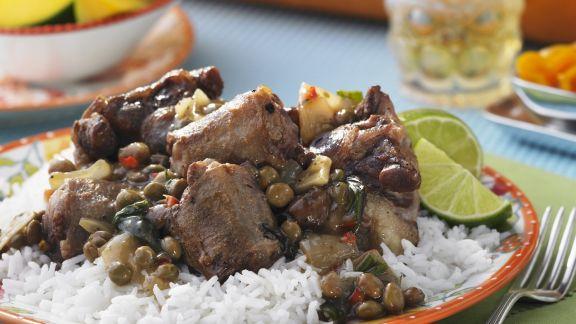 Rezept: Ochsenschwanzragout nach karibischer Art