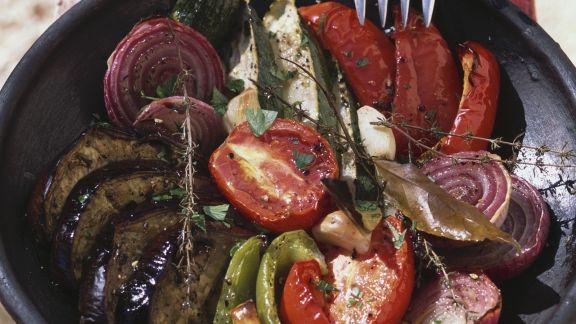 Rezept: Ofengemüse auf französische Art
