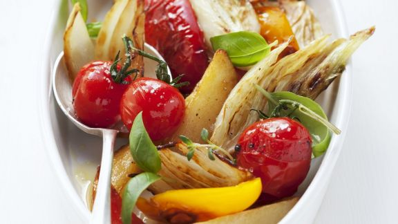 Rezept: Ofengemüse-Salat