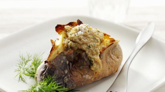 Rezept: Ofenkartoffel mit Amarantsoße