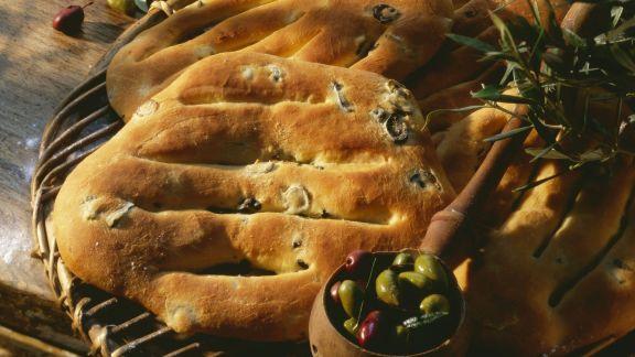 Rezept: Olivenbrot