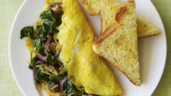 Rezept: Omelett mit Gemüse