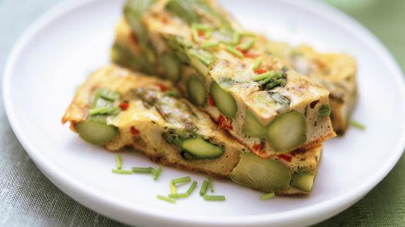 Rezept: Omelett mit Spargel