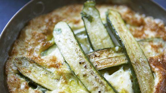 Rezept: Omelett mit Zucchini