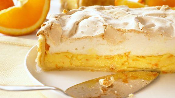 Rezept: Orangen-Baiser-Kuchen