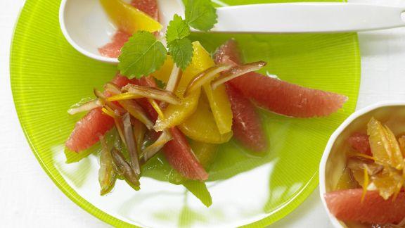 Rezept: Orangen-Grapefruit-Salat