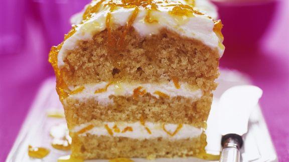Rezept: Orangen-Kastenkuchen