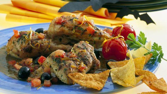 Rezept: Orangen-Kräuter-Huhn