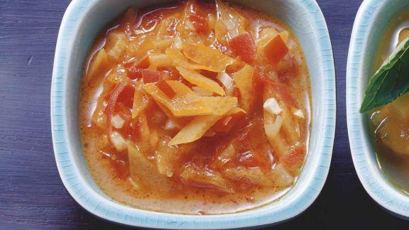 Rezept: Orangen-Paprika-Vinaigrette