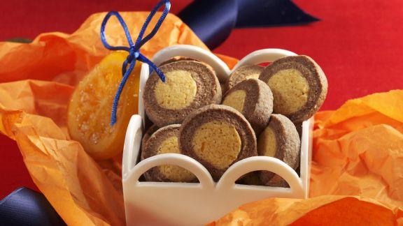 Rezept: Orangen-Schoko-Taler