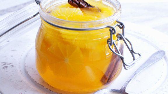 Rezept: Orangenkompott