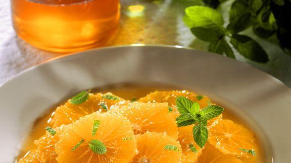 Rezept: Orangensalat