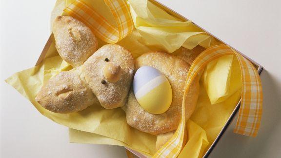 Rezept: Osterhäschen mit Ei