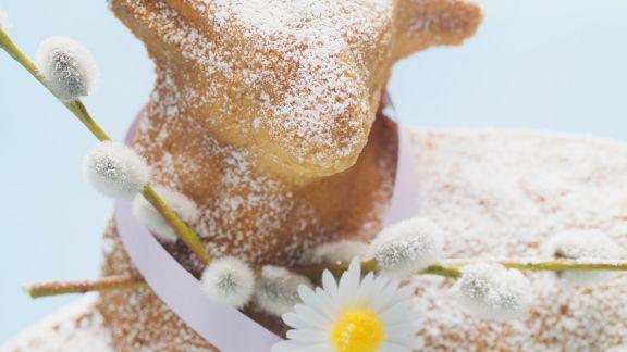 Rezept: Osterlamm-Kuchen