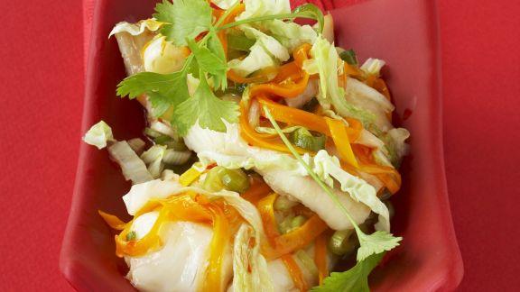 Rezept: Pangasiusfilet mit Asia-Gemüse