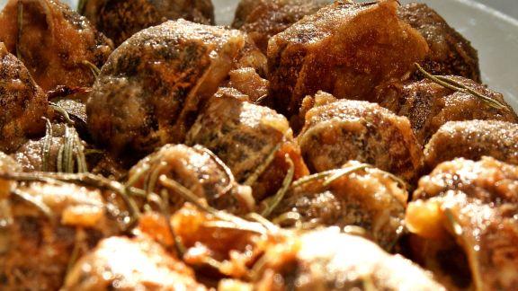 Rezept: Panierte Weinbergschnecken auf griechische Art