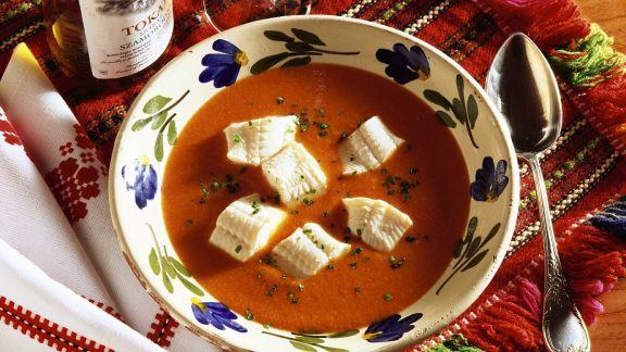 Rezept: Paprika-Fischsuppe
