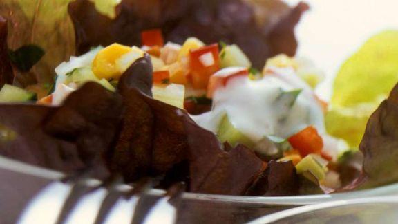 Rezept: Paprika-Mais Salat