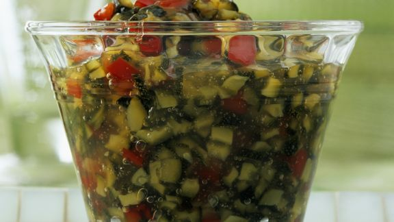 Rezept: Paprika-Zucchini-Konfitüre