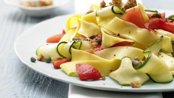 Rezept: Paprika-Zucchini-Nudeln