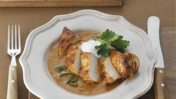 Rezept: Paprikahühnchen mit Spätzle auf ungarische Art (Galuska)