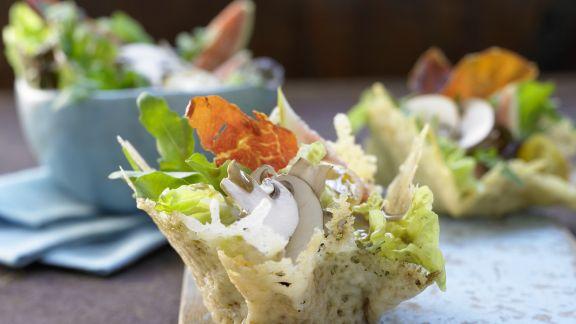 Rezept: Parma-Salat mit Feigen