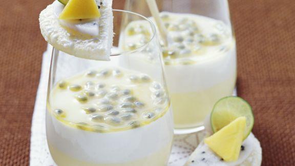 Rezept: Passionsfrucht-Kokos-Creme