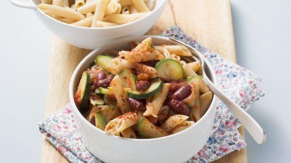 Rezept: Pasta mit Chili con Carne