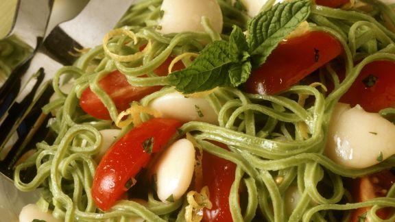 pasta mit dicken bohnen und tomaten rezept eat smarter. Black Bedroom Furniture Sets. Home Design Ideas