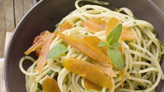 Rezept: Pasta mit Fischrogen