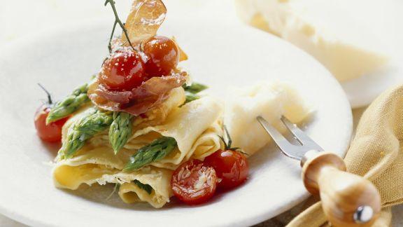 Rezept: Pasta mit grünem Spargel