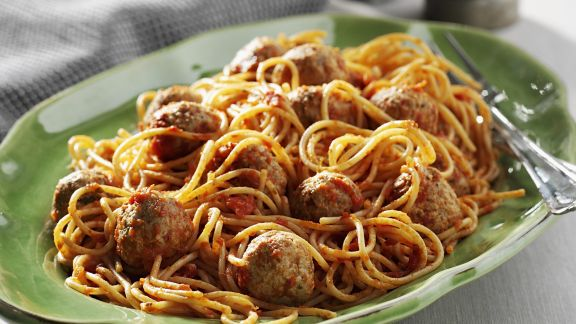 Rezept: Pasta mit Hackfleischbällchen