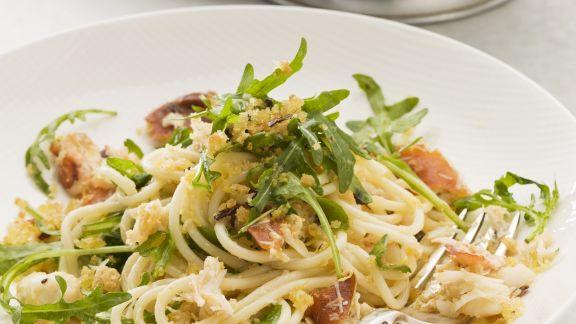 Rezept: Pasta mit Krabbenfleisch