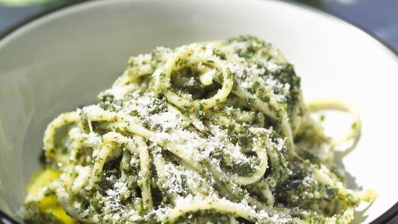 Rezept: Pasta mit Kräutern