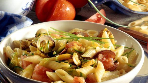 Rezept: Pasta mit Meeresfrüchten