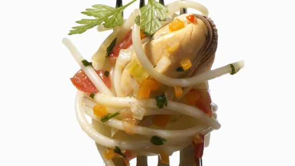 Rezept: Pasta mit Muscheln