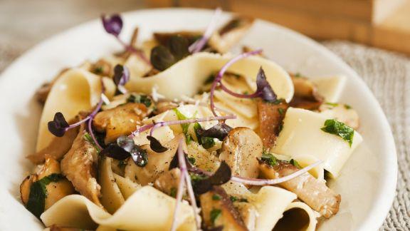 Rezept: Pasta mit Pilzsauce