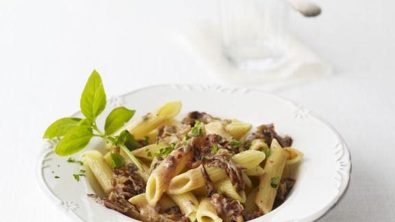 Rezept: Pasta mit Radicchiosoße