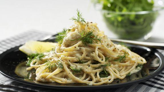 Rezept: Pasta mit sahniger Fenchelsoße