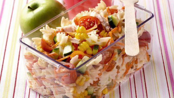 Rezept: Pasta mit Thunfisch und Gemüse