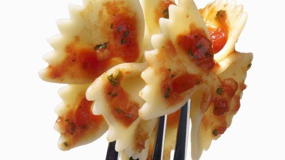 Rezept: Pasta mit Tomatensoße