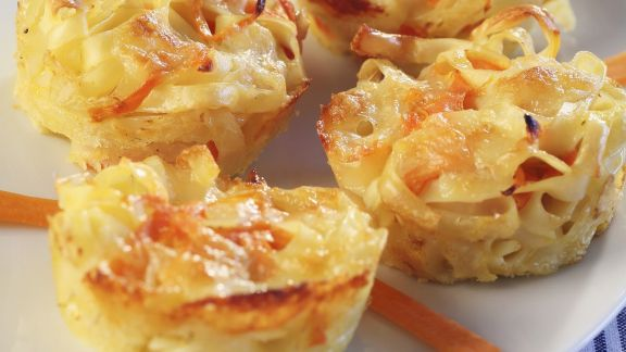 Rezept: Pastamuffins mit Karotten