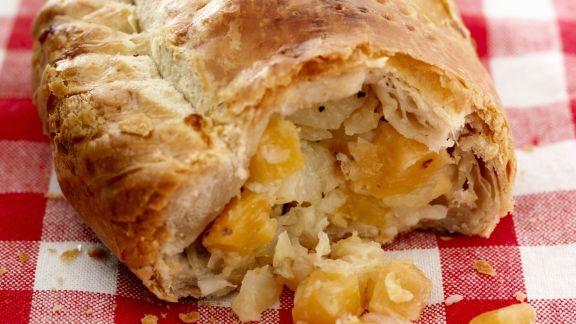 Rezept: Paste nach englischer Art (Cornish Pasty)