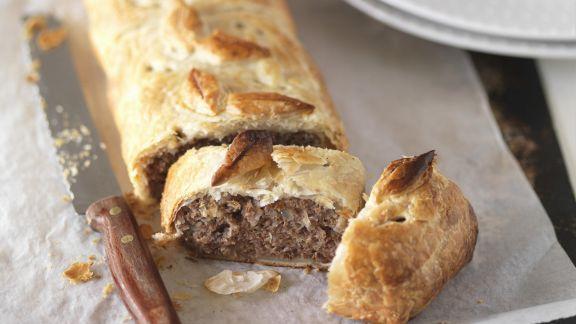 Rezept: Pastete mit Fleischfüllung auf englische Art