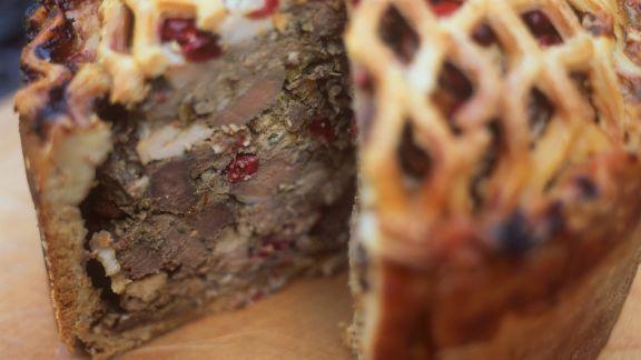 Rezept: Pastete mit Reh und Cranberries